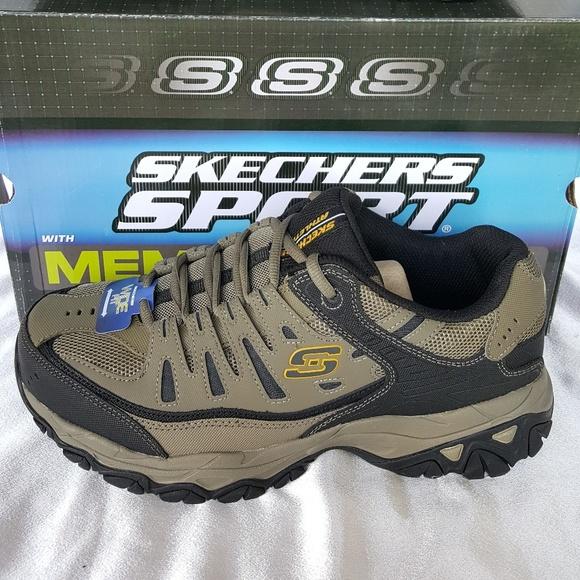 Skechers Sport Memory Foam Peeble Black